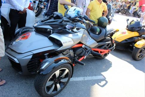 Can-Am Spyder F3S 2015 dau tien o Viet Nam