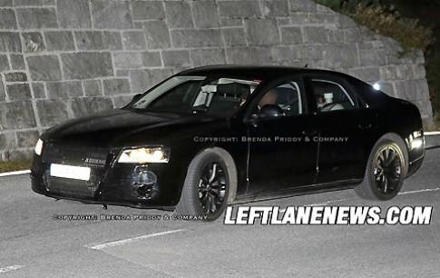 Cận cảnh Audi A8 thế hệ mới