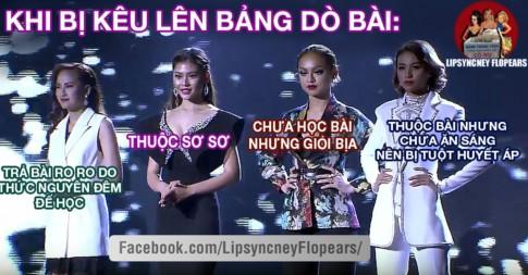 Chết cười với ảnh chế đêm chung kết The Face Việt Nam