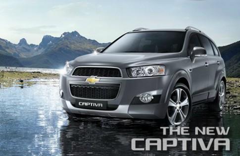 Chevrolet Captiva 2013 có giá từ 21.000 USD