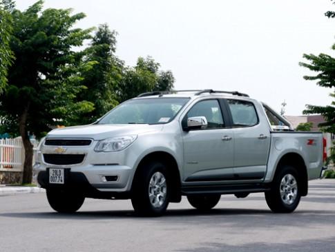 Chevrolet Colorado - bán tải phong cách sedan