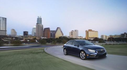 Chevrolet Cruze 2015 - nâng cấp thiết kế