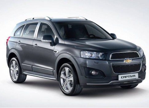 Chevrolet ra mắt Captiva Dynamic Red tại Hàn Quốc