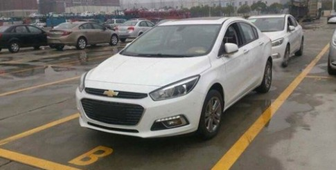 Chevrolet tiết lộ Cruze thế hệ mới