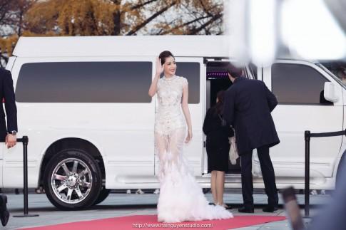 Chi Pu đánh bật dàn mỹ nhân xứ Hàn trên thảm đỏ Asia Artist Awards