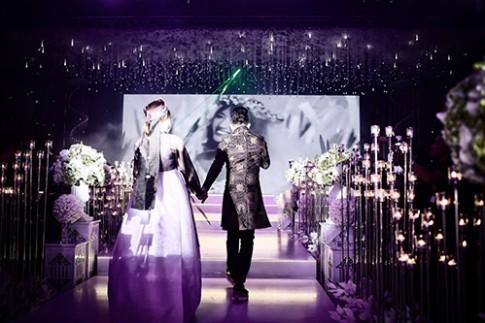 Chưa có đám cưới nào, chú rể khóc nhiều, cô dâu cười nhiều, khách mời vui nhiều thế này!