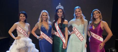 Đại diện Việt Nam lọt Top 5 Hoa hậu Qúy bà Thế giới 2016