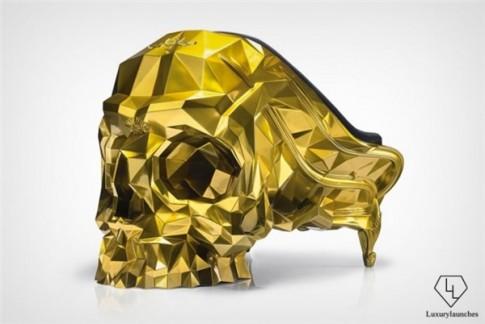 Đại gia chơi ngông: Ớn lạnh ghế hình đầu lâu dát vàng giá 11 tỷ