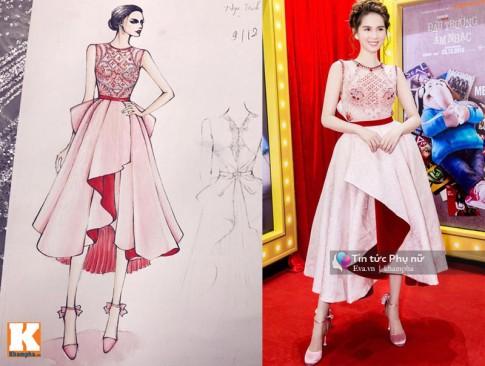 Điều chưa biết về những chiếc váy hot nhất của Ngọc Trinh, Thu Thảo, Chi Pu