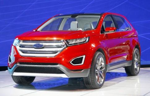 Ford Edge concept - xe đa dụng tương lai
