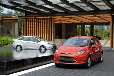 Ford Fiesta - xe dành cho phụ nữ tốt nhất 2013