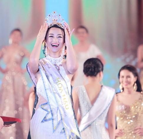 Giây phút đăng quang đáng nhớ của Tân Hoa hậu Bản sắc Việt