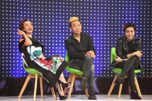 Gil Lê – Chi Pu cực đáng yêu khi trở thành đối thủ trên truyền hình