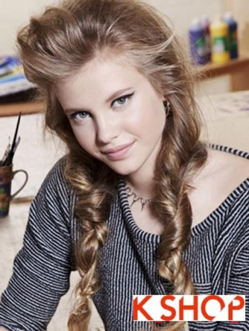Gợi ý kiểu tóc đẹp 2017 cho bạn gái tuổi teen dễ thương sành điệu