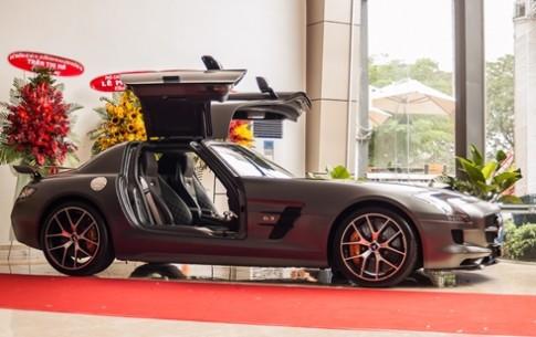 Hàng độc SLS AMG GT Final Edition tại Việt Nam