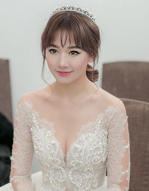 Hari Won trang điểm đẹp nhất tuần khi làm cô dâu