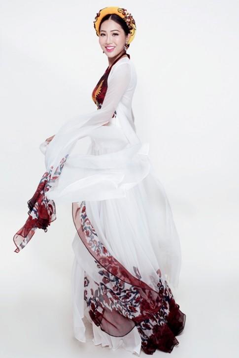 Hé lộ trang phục truyền thống của Diệu Ngọc tại Hoa hậu Thế giới 2016