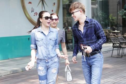Hồ Quỳnh Hương trẻ trung hẹn hò Nathan Lee