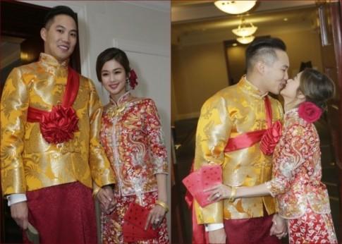 Hoa đán TVB bất ngờ tổ chức đám cưới tại nhà thờ ở Canada