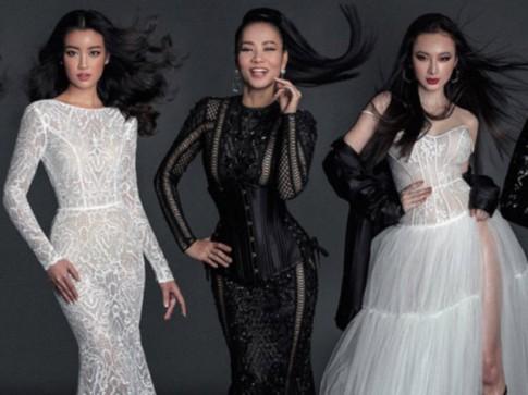 Hoa hậu Đỗ Mỹ Linh đẹp lấn lướt dàn chân dài hàng đầu Vbiz