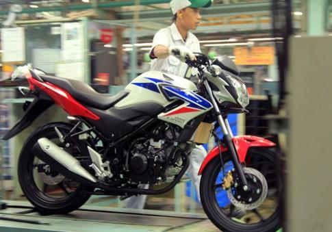 Honda CB150R Streetfire 2014 xuất hiện