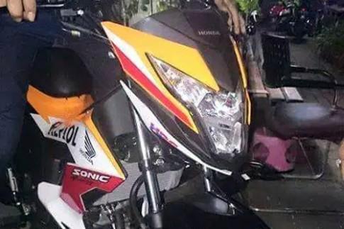 Honda Sonic 150R 2015 lộ thông số