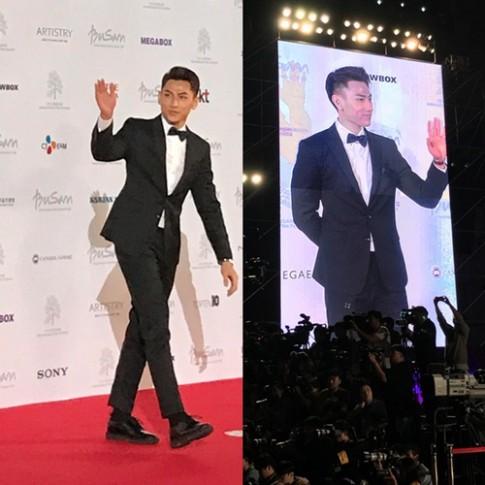 Isaac điển trai cùng dàn sao Hàn dự khai mạc Liên hoan phim Busan