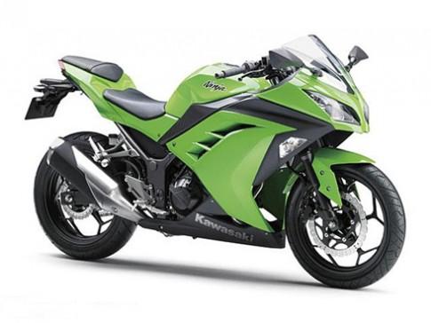 Kawasaki trang bị ABS cho Ninja 250R 2013