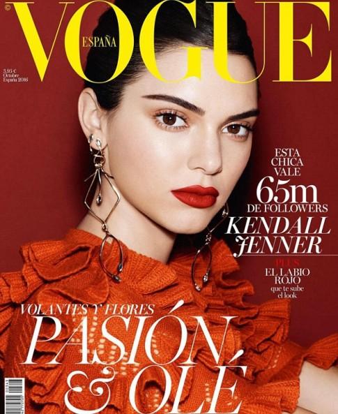 Kendall tiếp tục lên bìa tạp chí lừng danh Vogue