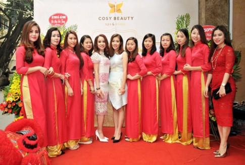 Khai trương viện thẩm mỹ Cosy Beauty cơ sở mới tại Hà Nội.