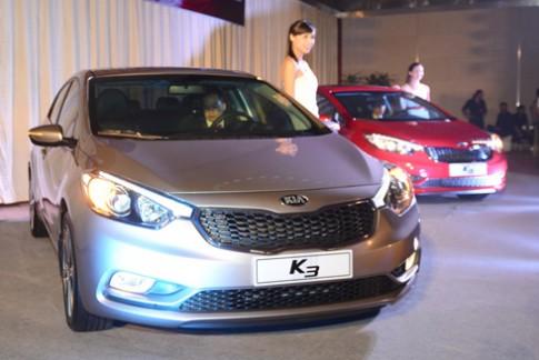 Kia K3 giá từ 638 triệu tại Việt Nam