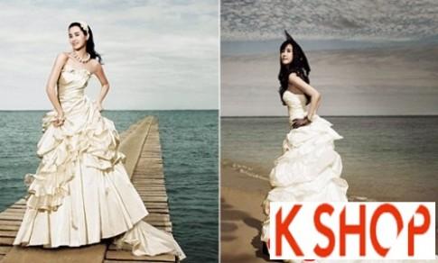 Kiểu tóc cô dâu Hàn Quốc đẹp cho nàng nổi bật duyên dáng 2017
