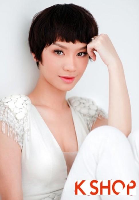 Kiểu tóc mái ngố Hàn Quốc tuyệt đẹp cho bạn gái thêm sành điệu