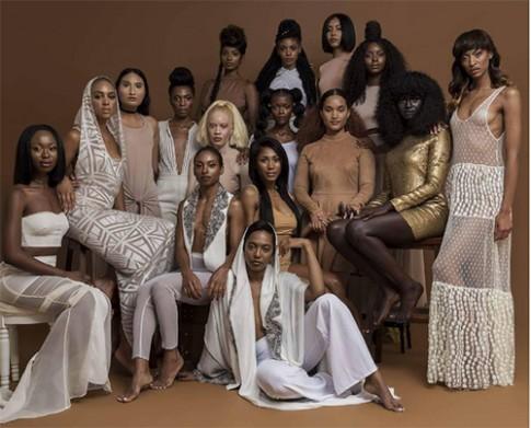 Kỳ lạ cô gái bỗng hot khắp mạng xã hội vì có làn da đen nhất thế giới