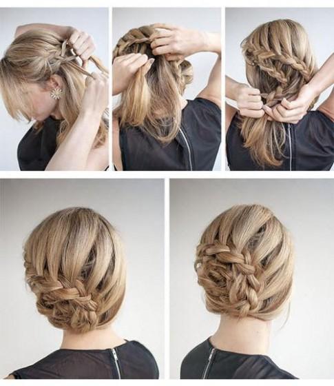 Là con gái nhất định phải một lần thử những kiểu tết tóc này
