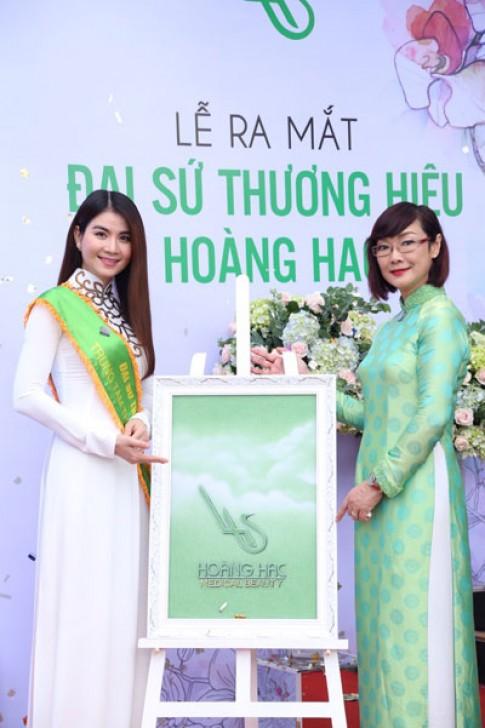 Lại Kha Ly chính thức là đại sứ thương hiệu TTTM Hoàng Hạc.