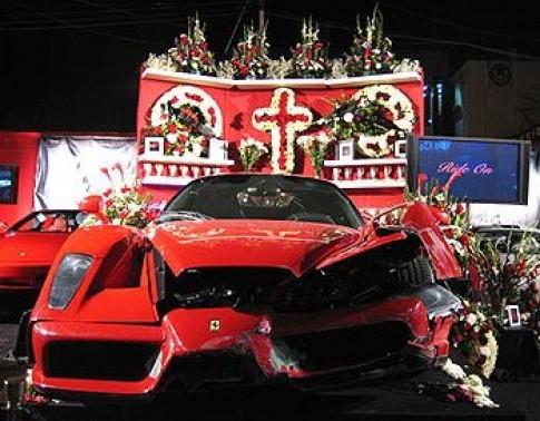 Làm tang lễ cho ôtô