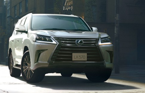 Lexus LX570 2016 có giá từ 88.700 USD