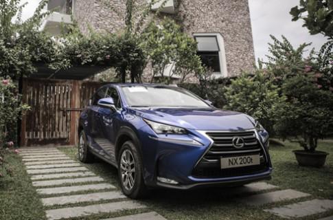 Lexus NX - crossover hạng sang cho người trẻ Việt Nam