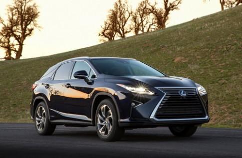 Lexus phát triển SUV hạng sang mới