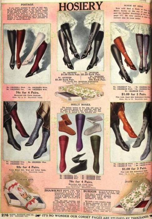 Lịch sử 'tiến hóa' của những đôi tất chân