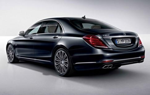 Lộ ảnh Mercedes S600 2015