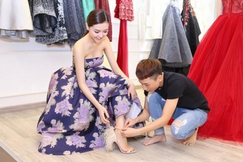 Mãn nhãn với váy áo lộng lẫy của Ngọc Duyên dự show nội y