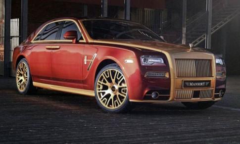 Mansory độ Rolls-Royce Ghost serie II
