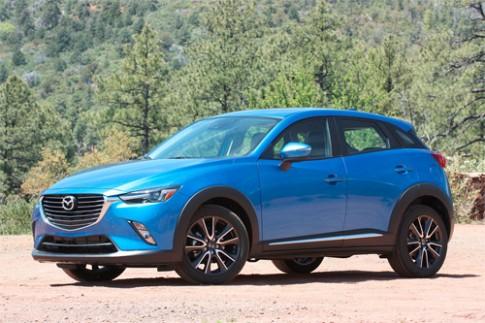 Mazda CX-3 2016 giá từ 20.000 USD tại Mỹ