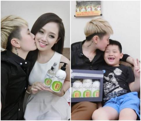 MC Ngọc Trang cảm động với quà 20/10 từ người yêu đồng tính.