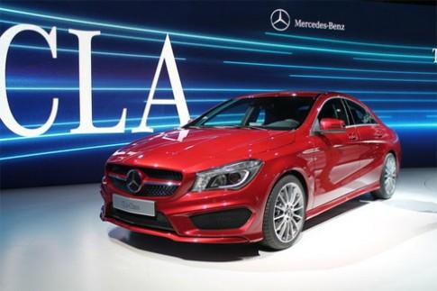 Mercedes CLA giá từ 30.000 USD