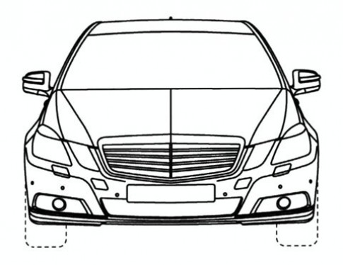 Mercedes để lộ bản vẽ E-class limousine