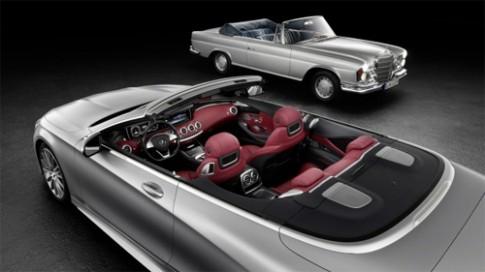 Mercedes lần đầu hé lộ S-class mui trần