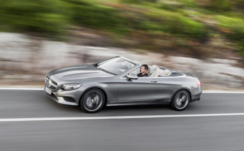 Mercedes S-class Cabrio - mui trần hạng sang ra mắt